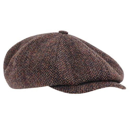 76973cecd19dac Stetson Hatteras Harris Tweed 8 panel cap (STE021)