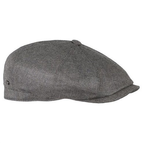 cheapest price exquisite style first rate Stetson Hatteras Herringbone Wool / Cashmere / Silk flat cap