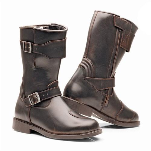 7490b6095743b5 Stylmartin Legend R boots in brown (STY020)