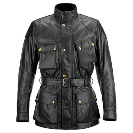 Belstaff Trialmaster wax cotton jacket in black