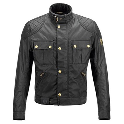 Belstaff Mojave wax cotton jacket in black