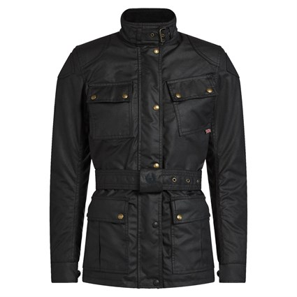 Belstaff Mojave wax cotton jacket in navy
