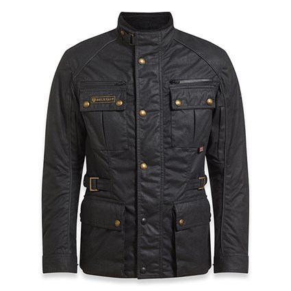 Belstaff Tourmaster Pro wax cotton jacket in black