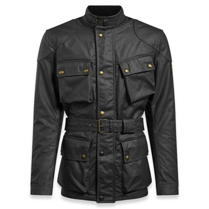 Belstaff Trialmaster Pro wax cotton jacket in black