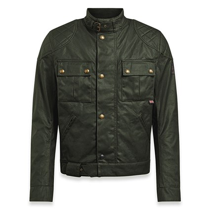 Belstaff Brooklands Mojave 2.0 jacket in olive green