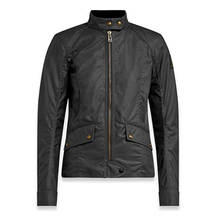 Belstaff Antrim wax cotton ladies jacket in black