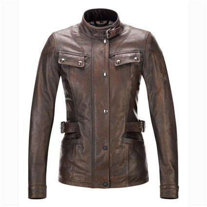 Belstaff Womens Brown Crystal Palace Jacket