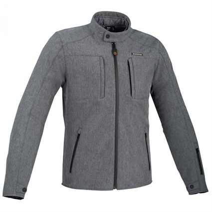 Bering Carver jacket in grey