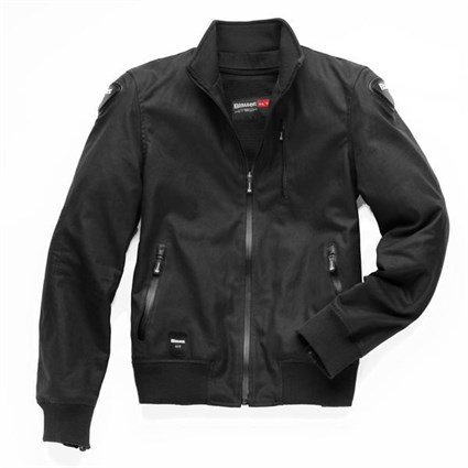 Blauer Indirect wax cotton jacket in black