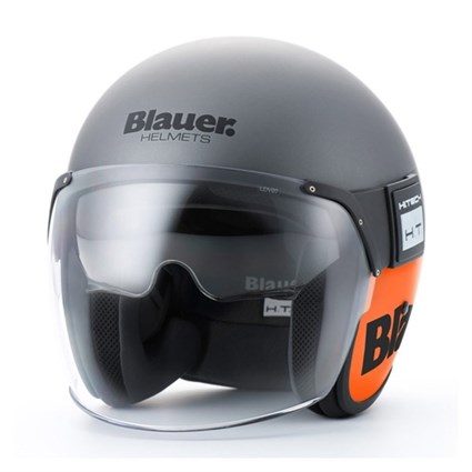 Blauer Pod helmet in titanium / orange