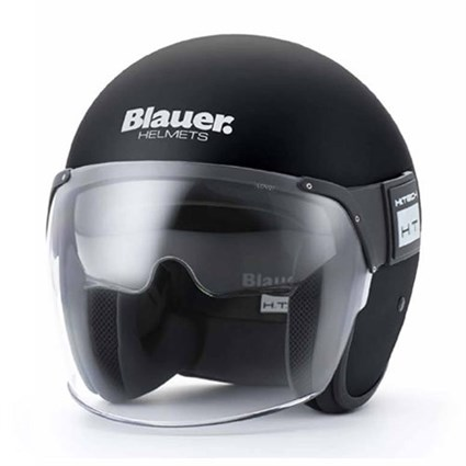 Blauer Pod helmet in monochrome black