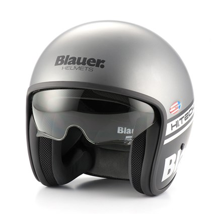 Blauer Pilot 1.1 helmet in matt grey