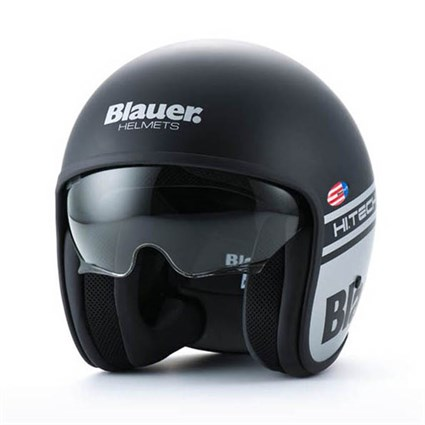 Blauer Pilot 1.1 helmet in matt black / grey