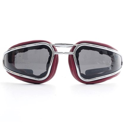 Baruffaldi Easy Rider Goggles in Red