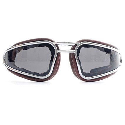 Baruffaldi Easy Rider Goggles in Brown