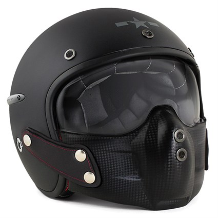 Harisson Corsair Black helmet