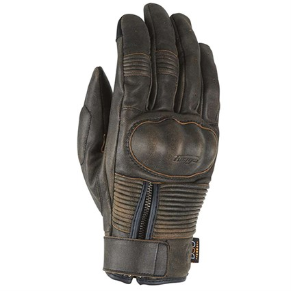 Furygan James D3O gloves in brown
