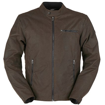 Furygan Bruce wax cotton jacket in brown