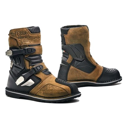 Forma Terra Evo low boots in brown
