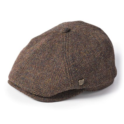 Failsworth Hudson Harris cap in brown