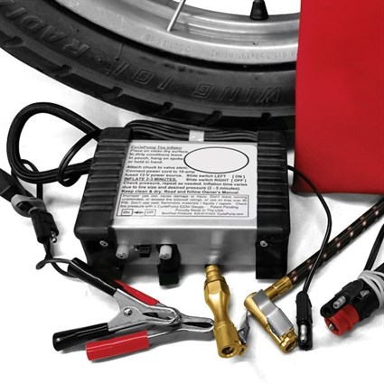 Portable Motorcycle Tyre Inflator - Expedition Version