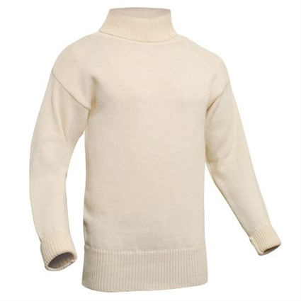 Submariner Rollneck Sweater in cream