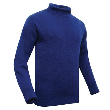 Frank Bullitt rollneck in blue