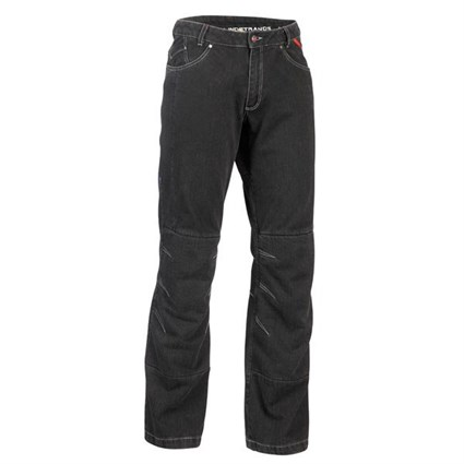 Halvarssons ladies Wrap jeans in black