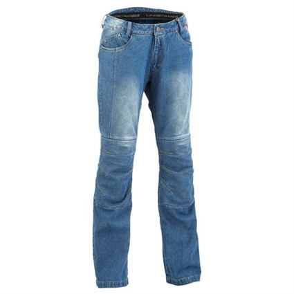 Halvarssons Wrap ladies jeans in blue light wash