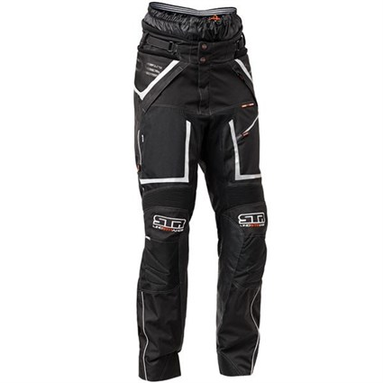 Halvarssons Q-Pant in black / white