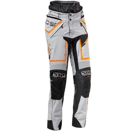 Halvarssons Q-Pant in grey / orange