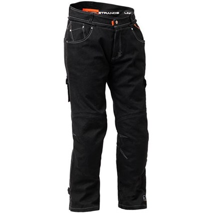 Halvarssons Curtis trousers in black