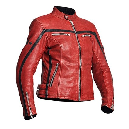 Halvarssons 310 ladies jacket in red