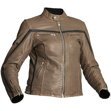 Halvarssons 310 ladies jacket in black / brown