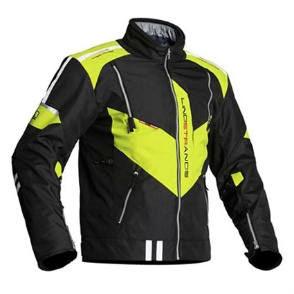 Halvarssons Wacca jacket in black / yellow