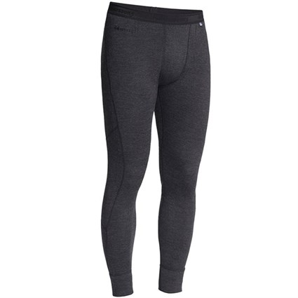 Halvarssons Wool Longs Base Layer in black