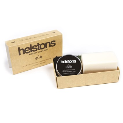 Helstons Leather Care Kit No.3 - neutral Grease