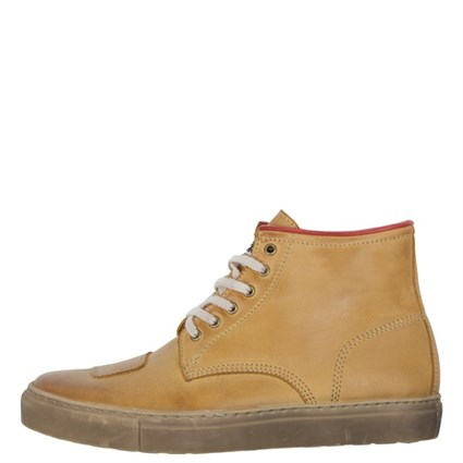 Helstons Basket C5 boots in tan