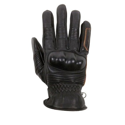 Helstons Monza Black Summer gloves