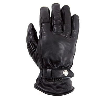 Helstons Boston Black Summer Waterproof gloves