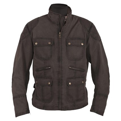 Helstons Hunt jacket in brown