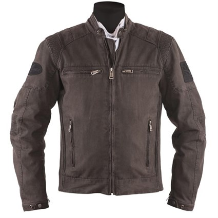 Helstons Trust jacket in brown