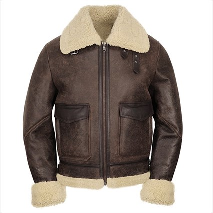 Helstons Bombardier  jacket in brown