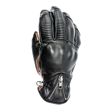Helstons Dock Winter gloves in black / camel