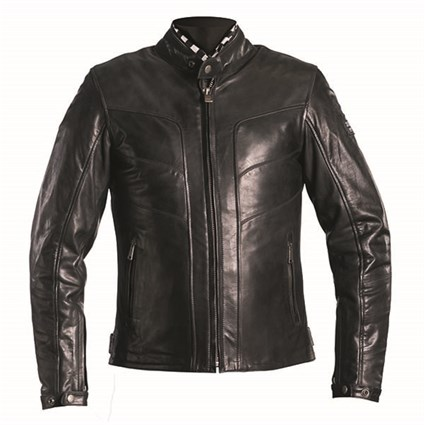 Helstons River jacket in black