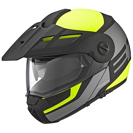 Schuberth E1 helmet in guardian yellow