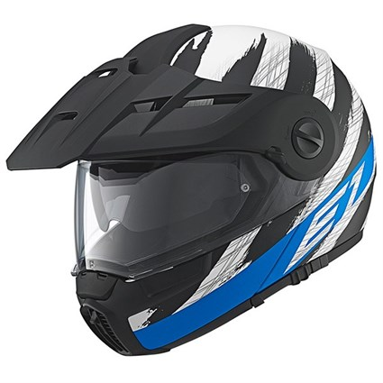Schuberth E1 helmet in hunter blue