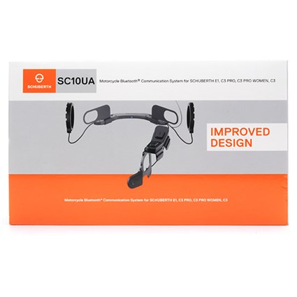 Schuberth C3 / Basic / Pro / E1 SC10UA intercom headphone - SAVE £40 when purchased with a new C3 helmet.