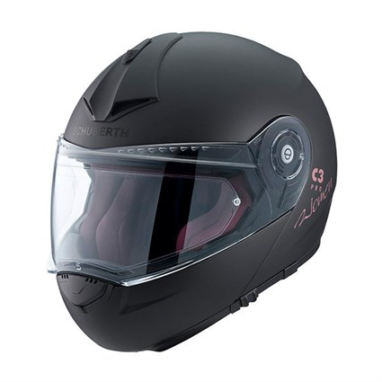Schuberth Ladies C3 Pro helmet in matt black
