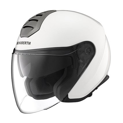 Schuberth M1 helmet in Vienna white
